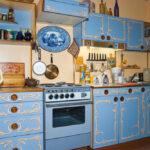 перекраска кухонного гарнитура оформление