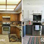 перекраска кухонного гарнитура оформление фото