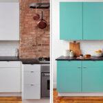 перекраска кухонного гарнитура идеи