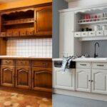 перекраска кухонного гарнитура идеи вариантов