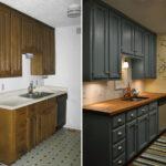 перекраска кухонного гарнитура дизайн