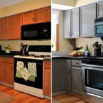 перекраска кухонного гарнитура фото дизайна