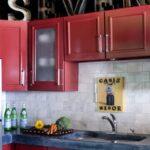 покраска кухонного гарнитура дизайн идеи