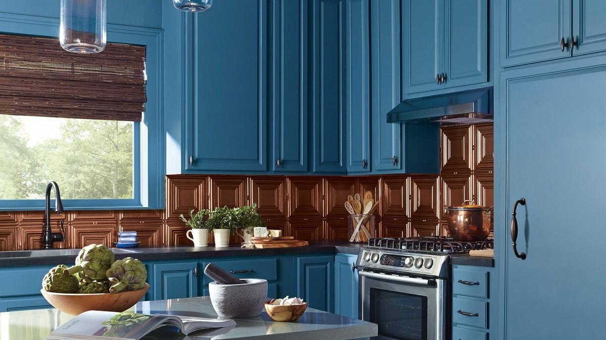 покраска кухонного гарнитура дизайн