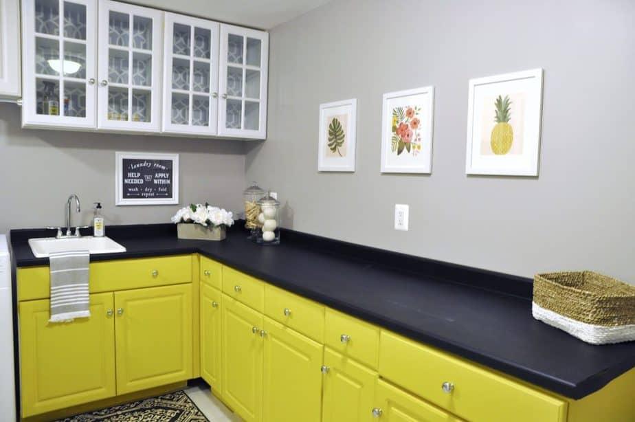 покраска кухонного гарнитура фото идеи