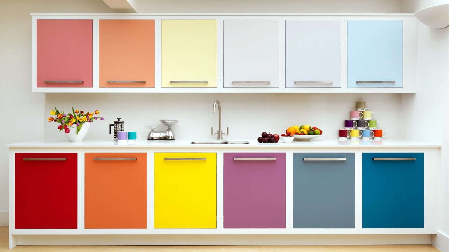 покраска кухонного гарнитура фото