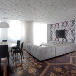 потолочная плитка дизайн