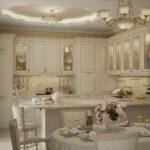современная классическая кухня 16