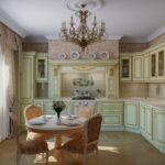 современная классическая кухня 28