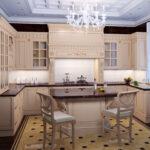 современная классическая кухня 33