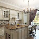 современная классическая кухня 40