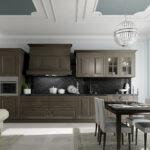 современная классическая кухня 44