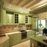 современная классическая кухня 48