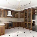 современная классическая кухня 49