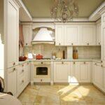 современная классическая кухня 51