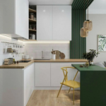 Стильные решения для офисной-кухни